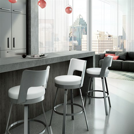 Amisco Brock 41435 Custom Bar Stool Alfa Barstools