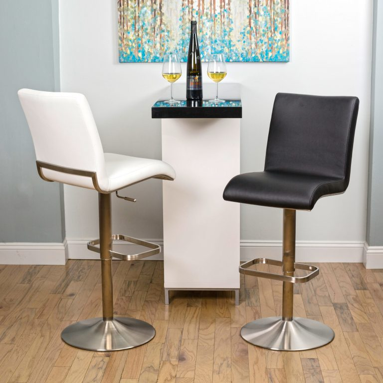 Fogo Adjustable Height Stainless Stool