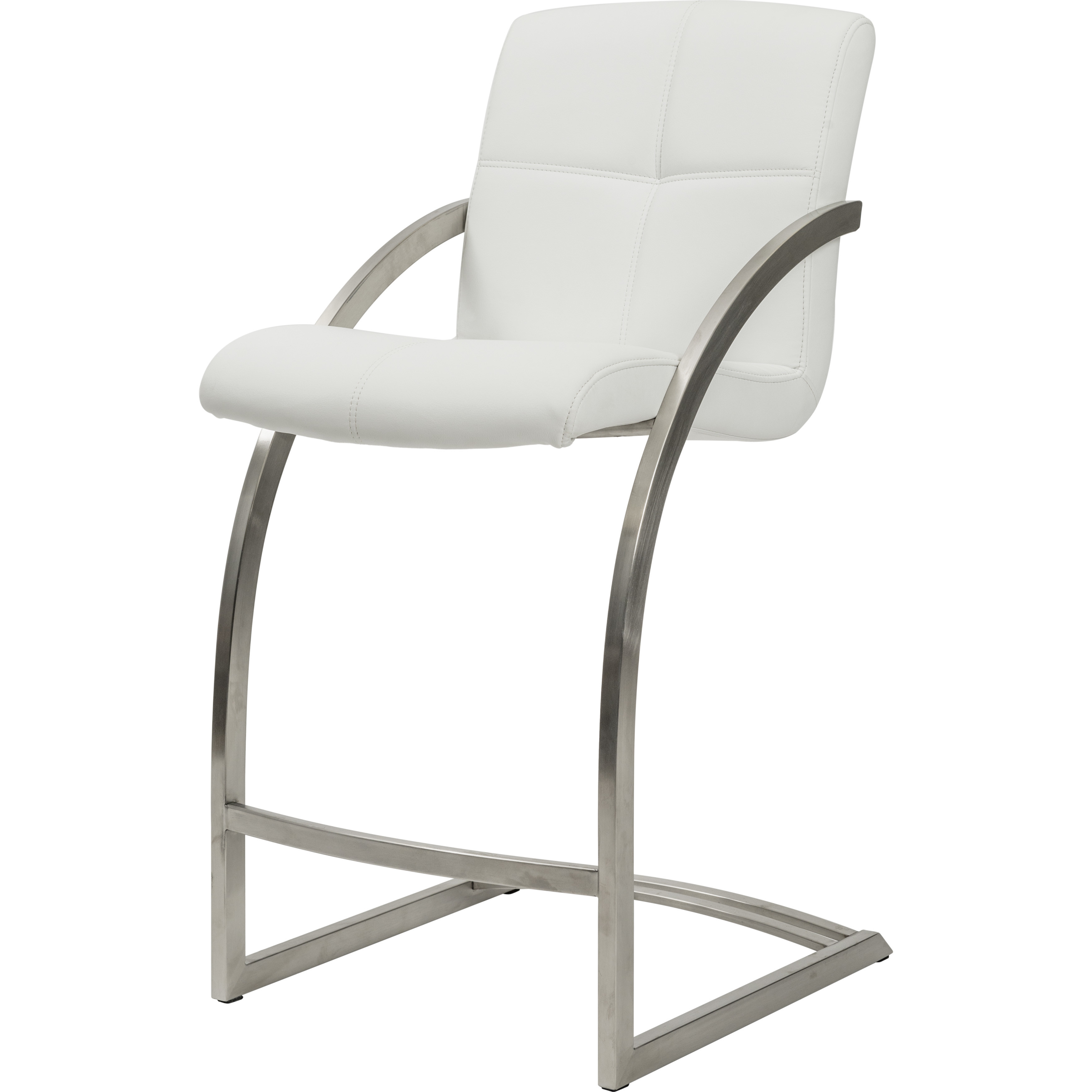 Matrix Imports Vedo Non Swivel Stainless Stool Alfa