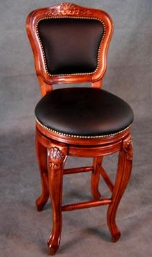 Oriental Wood Stool