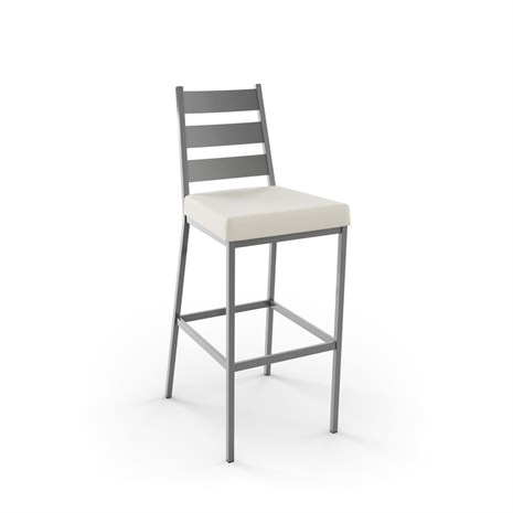 Amisco 40325 Level Non Swivel Bar And Counter Stool Alfa
