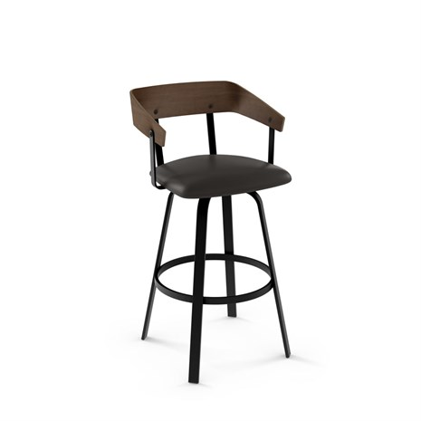 Amisco Carson 41519 Swivel Stool For Industrial Kitchens
