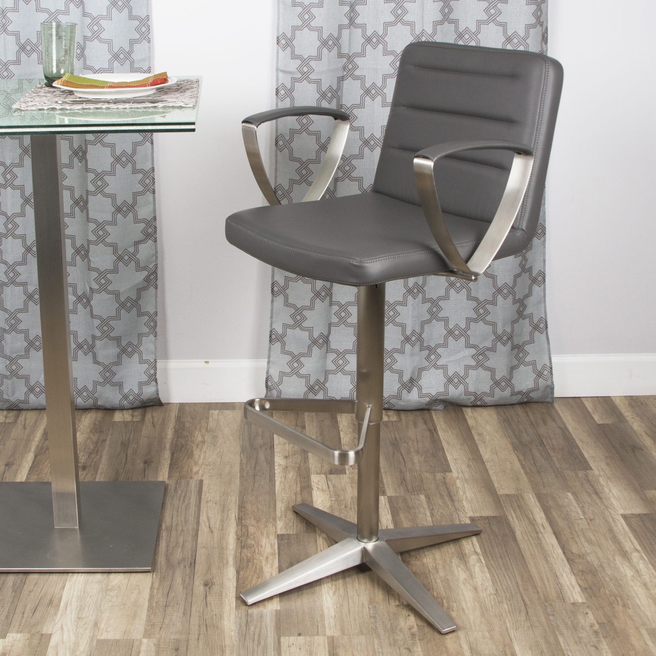 Rexx Stainless Stool