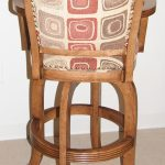 Wood Coco Stool Back