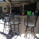 outdoor extra tall stool
