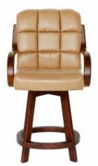 Douglas Wooden Joan Arm Stool