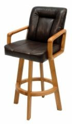 Wood Bar Stool Nancy