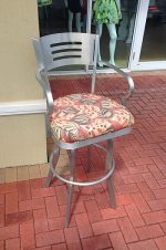 Outdoor 34 inch stool