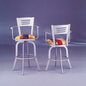 Swivel Stool With Arms