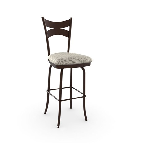 Amisco Meadow 41466 Comfortable Kitchen Counter Stool