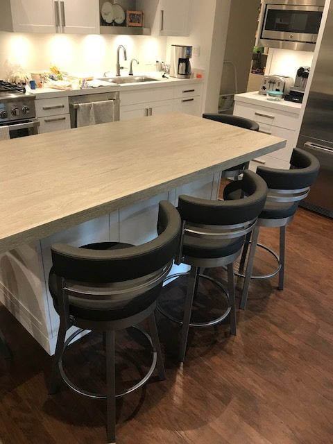 Amisco Ronny 41442 Bar Stool 26 Inches And 30 Inches