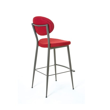 Amisco 40132 Opus Stationary Bar Stool Or Counter Stool